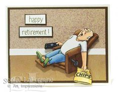 Retired guy by SophieLaFontaine - Cards and Paper Crafts at Splitcoaststampers