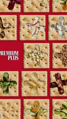 Whether your mood is corned beef & cheese or PB & banana, or just the cracker, Premium+You = the perfect pair.#WhatsYourPlus