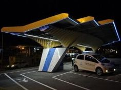 Les stations solaires le futur des stations-services routières