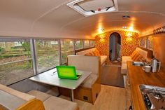 Bus Interior.   We have had the bus internally converted int…   Flickr
