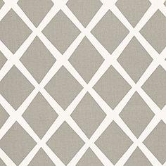 Fabric for desk chair  serenaandlily.com - Bark Diamond Fabric $50/yard