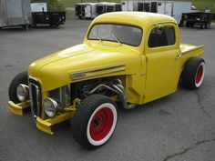 custom hot rod designs | Chopped 1950 Ford Pickup hot rod for sale