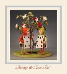 R. John Wright Dolls alice in wonderland series