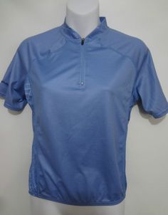 Cannondale Womens S Light Blue Short-Sleeve Bike Cycling Jersey Shirt a7b47e506