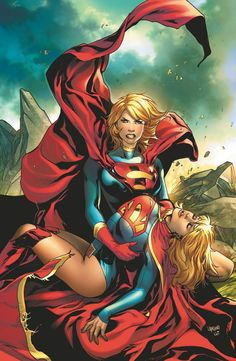 Emanuela Lupacchino - Supergirl and Power Girl