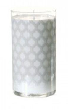 Screenprinted Milk Candle