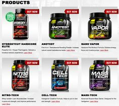 Check the NEW Performance Series from MuscleTech!