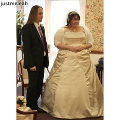 LollyLikesFATshion: 105 Plus/Fat Bride/Groom - Meet Leah & James