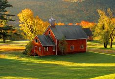 Red barn in the country...this calls me...even knows my maiden name!!!! lol