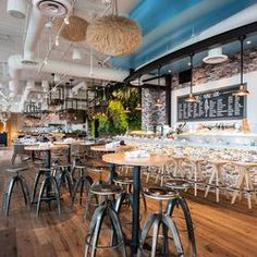 Treat Yourself To Oyster Hyhour At Herringbone A Gorgeous Seafood Restaurant On Ocean Avenue