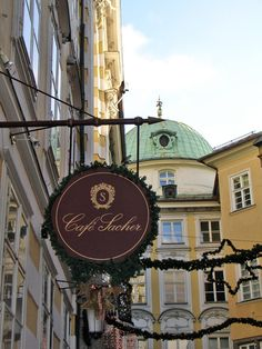 Cafe Sacher - Innsbruck, Austria. Went to this one and of course in Vienna - and didn't get the torte either time.