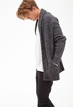 Cable Knit Cardigan | 21 MEN. Took me a while to get over the stigma of 21 Men being part of Forever 21, but a good deal for a great garment is a good deal indeed!
