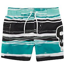 amy coe Boys Skull Swim Trunk with Liner - Babies R Us - Babies R Us