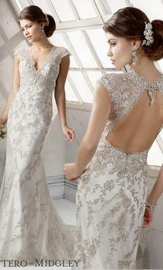 Maggie Sottero Clementine: buy this dress for a fraction of the salon price on PreOwnedWeddingDresses.com