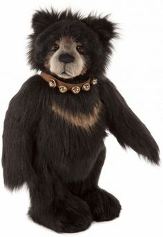 Bells on my collar Bear?: Charlie Bears Plush Kenzie Bear - 2015 - UK Delivery Only