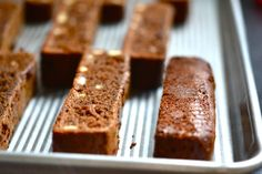 GF Chocolate Almond Biscotti - not sure how this recipe will turn out, but it looks easy enough.
