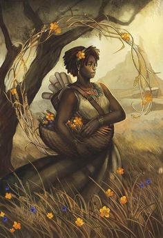 Julie Dillon (born in is an American artist living and working in Northern California specializing in science fiction and fantasy art. Zodiac Art, Zodiac Signs, Caricatures, Samhain, Mabon, Illustrations, Illustration Art, Character Illustration, Chiara Bautista