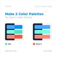 Designing the user interface in practice - Dark Mode Mobile Ui Design, Dashboard Design, Design Android, Interaktives Design, Game Design, Design Page, Web Ui Design, Design System, Flat Design
