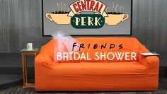 Central Perk themed bridal shower: ideas, pics, and free downloads!