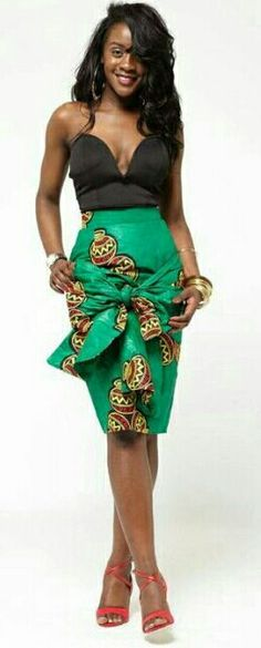❣African Print in Fashion