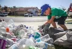 Sustentabilidade: garoto de 7 anos cria empresa de reciclagem