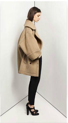 Sandalwood reversible quilted jacket.  Chloe.  www.Chloe.com