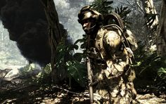 Infinity Ward has released a video that it showcased at the Xbox One reveal featuring a comparison between the technology used in Call of Duty: Ghosts and that used in Modern Warfare Ps4 Or Xbox One, Xbox One Games, Xbox Live, Playstation Games, Ps4 Games, Video Game News, Video Games, Gamer's Guide, Gift Guide