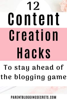 content creation hacks that will keep you ahead of the blogging game. Blogging, parent blogging, mummy blogger, dad blogger, content creation, easy ways to create content, content hacks, content tips Marketing Budget, Social Marketing, Make Money Blogging, Way To Make Money, Spelling And Grammar, Blogger Tips, Work From Home Moms, How To Start A Blog, Things That Bounce