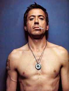 Beautiful Robert Downey Jr.  I know, don't hate. Admit it, he's hot.