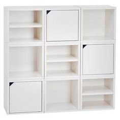Way Basics 9 Cubby Connect Cube System Modular Storage Bookcase