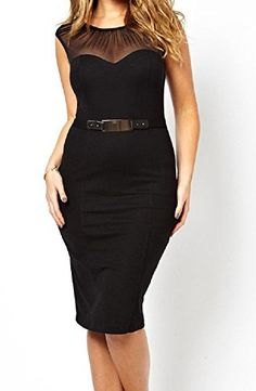 Fiona World Womens Black Plus Size Long Sleeve Chiffon Dress Fiona World http://www.amazon.com/dp/B015XTX7DE/ref=cm_sw_r_pi_dp_5h1cwb0MT69NW