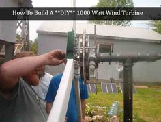 How To Build A **DIY** 1000 Watt Wind Turbine