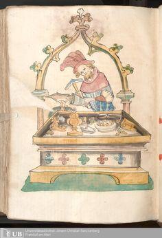 654 [325v] - Ms. Carm. 1 (Ausst. 47) - Das Buch der Natur - Page - Mittelalterliche Handschriften - Digitale Sammlungen  Hagenau, [um 1440]