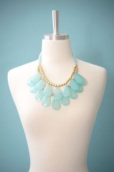 Necklace-Aqua