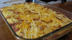 Carrie's Cooking and Recipes: Hashbrown Egg Breakfast Casserole