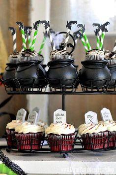 Witches Ball Halloween Party via Kara's Party Ideas Ideas -www ...