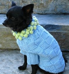 Keep your pets bundled up this winter with this cozy pet sweater!
