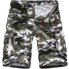 75c5b6619d746 2017 New Arrival High Quality Men Camouflage Cargo Bermuda Casual Shorts  Multi Pockets Tactical Military Shorts