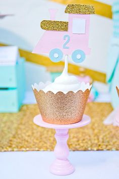 Sparkle birthday party ideas for Grace cupcake wrappers
