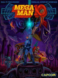 """Schon einmal hat uns das Team von Capcom mit einem Retro-Mega Man-Spiel beglückt. Ist ihnen das mit Mega Man 10 auch gelungen?   Handlung Die Roboterkrankheit """"Roboenza"""" verbreitet sich. Dr. Wily behauptet steif und fest, nicht der Verantwortliche dafür zu sein. Das Intro ist grafisch wieder am alten Mega Man-Spiel orientiert. Er behauptet an einer Anti-Roboenza-Maschine zu arbeiten.   #Capcom #MegaMan10"""