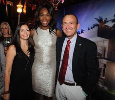 Botaniko Weston organizó su fiesta #RedParty, que contó con la presencia de Serena Williams