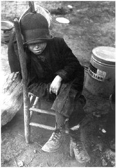child of the depression | usa 1930s | foto: ben shahn