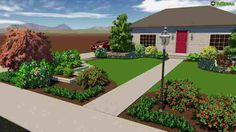 Check Out Our Raised Bed Front Yard Design For Ideas On How To Incorporate  Raised Beds