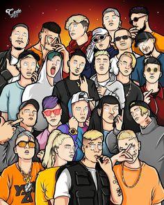 Freestyle Rap, Gaming Wallpapers, Cute Cartoon Wallpapers, Boys Wallpaper, Iphone Wallpaper, Tumblr Image, Hip Hop Rap, Pencil Drawings, Pixel Art