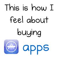 This is how I feel about buying apps - The Oatmeal #trrrruuuueee