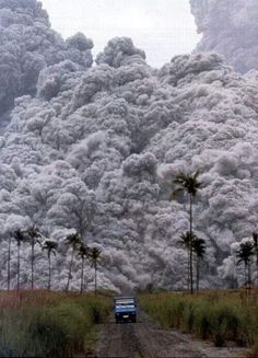 Volcano at Mt Pinatubo-in the Phillipines on June 15, 1991