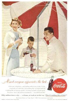1955 Advertisement for Coca Cola