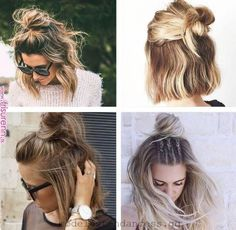 Pin by Mode 2019 on Mode in 2019 | Pinterest | Short hair styles, Hair and Hair styles