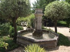 Add this fountain element - classic French or Italian