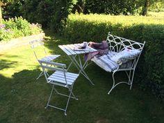 Tea in the shade